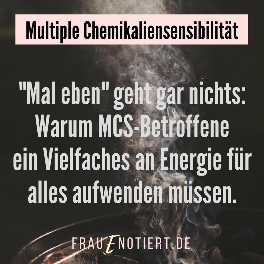 MCS, Multiple Chemikaliensensibilität, Multiple Chemikaliensensitivität, Umweltkrankheiten, Umweltgifte, Leben mit unsichtbarer Behinderung, unsichtbar krank, Mastzellaktivierungssyndrom, MCAS, Mastzellen