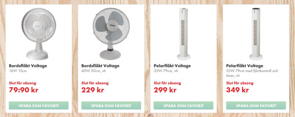 Stockholm, fläkt, ventilator, online, köp, Ventilator Hitzewelle, Schweden,