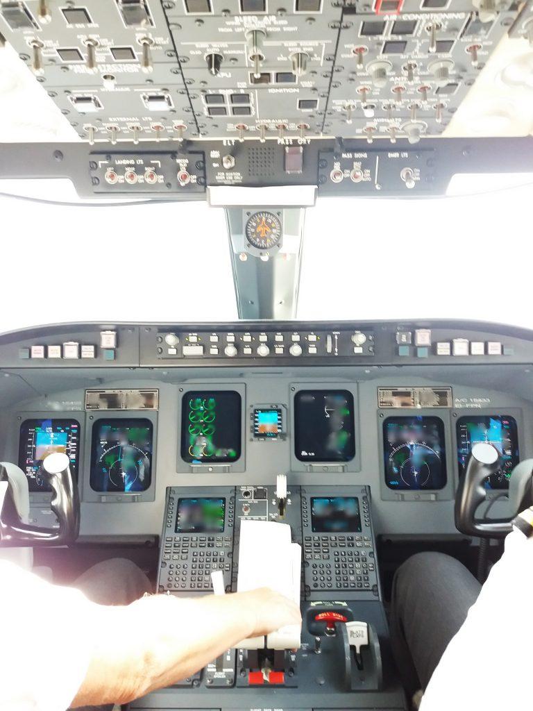 Flugzeug, Cockpit, Instrumente, Fliegen, SAS, Lufthansa